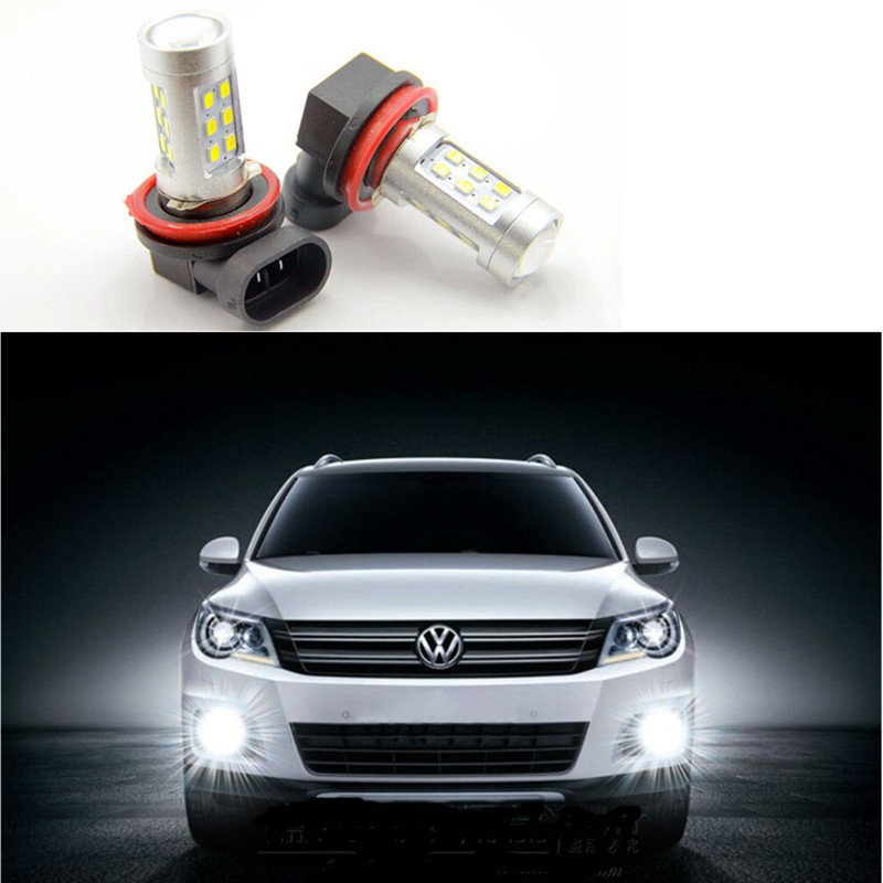 Car lights H8 3528 7.5W LED Fog Lamp Automobile Light Bulbs High power Light Super Bright Super bright white<br><br>Aliexpress