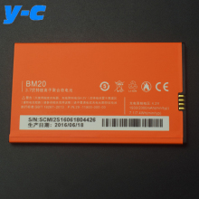 For Xiaomi mi2 Battery 100% New BM20 2000mAh Battery for Xiaomi mi2 m2s Smart Mobile Phone