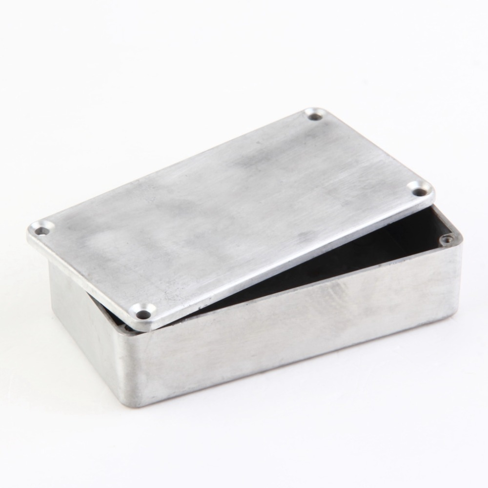 New 1Pcs Drop Shipping Stomp Box Effects 1590B Style Aluminum Pedal Enclosure FOR Guitar wholesale<br>