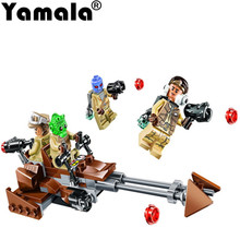 [Yamala] Star Wars Force Awakens Rebel Alliance Battle Pack Action Building Blocks Bricks toy Compatible legoingly Starwars(China)