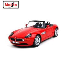 Maisto 1:24 Z8 Red Diecast Model Car Toy New In Box Free Shipping