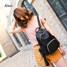 2017 New Fashion Backpacks For Men Women Teenage Vintage Nylon Casual Shoulder Bag Small Backpack Travel Bag School Bags(China)