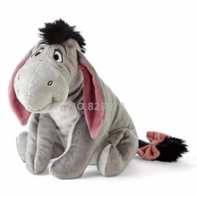 Cute Eeyore Gray Donkey Plush Toy Stuffed Animals 30cm 12'' Baby Kids Toys for Children Gifts