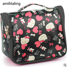 New Hello kitty Waterproof Trave bag make up bag Case YEY-0971-4