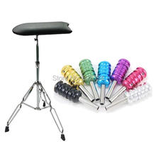 USA Dispatch Pro Arm Leg Rest Adjustable Chair Furniture 7 Tattoo Grips Tube Back stem for beginner tattoo kits supplies