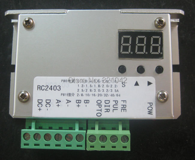 Stepper motor drive control machine 42,57/stepper controller/drive control/fixed-length round trip<br>