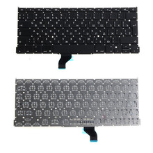 Laptops Replacements Accessories Replacement Keyboards English Russian Standard Fit For Apple Macbook A1398 Keyboards VCZ19 T50(China)
