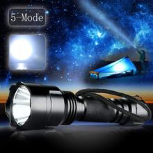 NEW Super Bright 3000 Lumen CREE XM-L C8 T6 LED 5-Mode Flashlight Torch Lamp Light 18650 Special reflector design SOS(China)