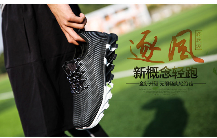 17New Hot Light Running Shoes For Men Breathable Outdoor Sport Shoes Summer Cushioning Male Shockproof Sole Athletic Sneakers 25