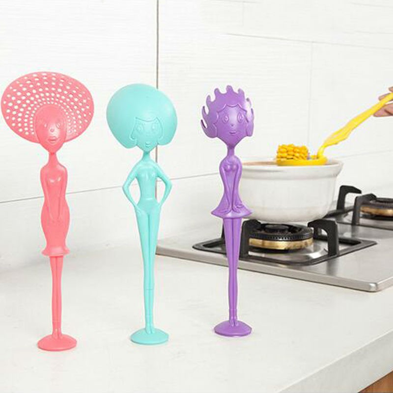Creative-silicone-soup-ladle-Long-Handle-miss-ladle-soup-pasta-spoon-Dinnerware-Cooking-Tools-Kitchen-Accessorie