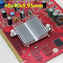 50PCS Aluminum Heatsink 40x40x9.95MM Chip VGA RAM LED IC Radiator Cooling Cooler Heat sink(China)