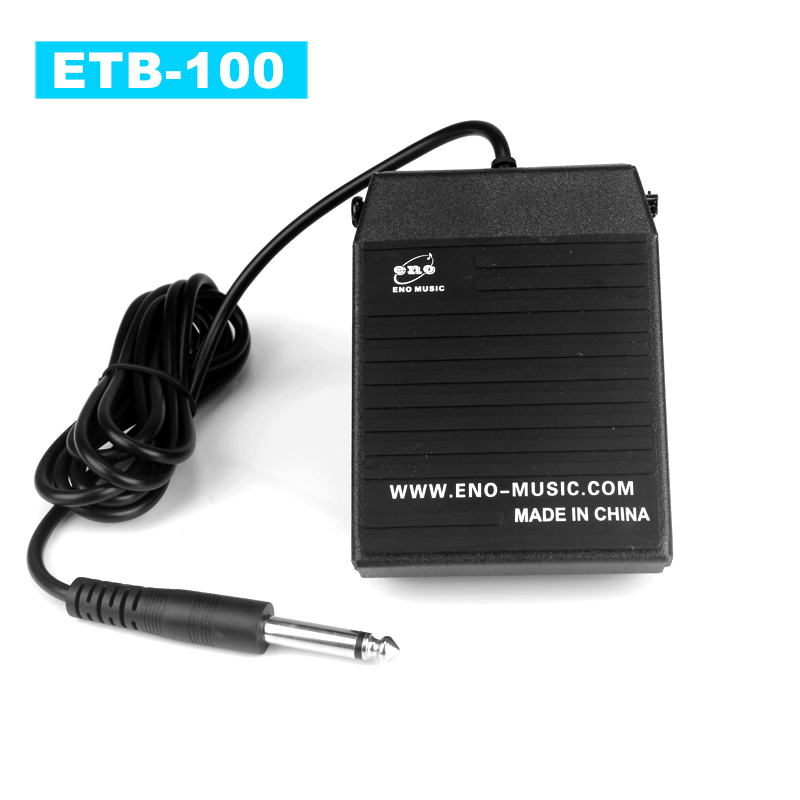 eno ETB100 New Keyboard Pedal High Quality Sustain Pedal for All Kinds of Keyboards<br>
