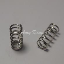 100pcs/lot Free shipping 3D accessories MK powerful extruder spring 7*9*20mm nickel plated steel