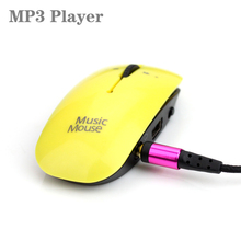 Big promotion mini Mouse MP3 Player With Micro TF/SD Card Slot Portable sport mp3 Music players walkman(China)