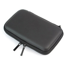 Generic PU leather waterproof Carrying Zipper Bag Pouch Protection For GPS Hard Disk