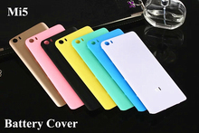 Top Quality Glossy & Matte Back Battery Cover For Xiaomi Mi 5 Mi5 M5 Phone Case Housing Replacement Parts+Free Open Tool Sucker