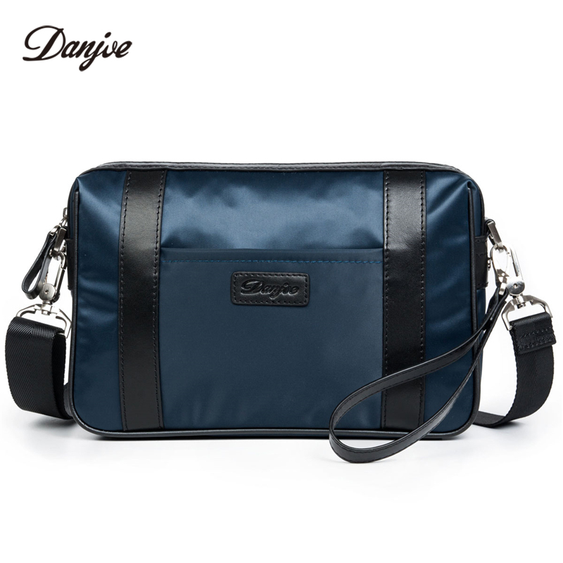 DANJUE Men Messenger High Quality Waterproof Oxford Crossbody Bag Male Casual Clutches Bag Men Mini Daily Shoulder Bag<br>