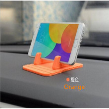 Universal Car Holder Stand Bracket Support GPS For Coolpad Cool Changer S1 Fancy 3 Max Mega 3 Soft Silicone Car Phone Holder