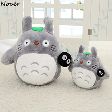 Nooer Japan Anime Cartoon Totoro Plush Toy Kawaii Cute Stuffed Totoro Family Doll Soft Kids Children Toy Birthday Christmas Gift
