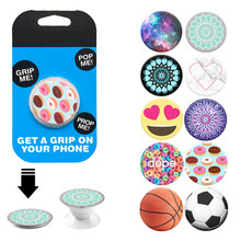 2017 New Beautiful Finger Phone Holder Desk Stand Grip Phone Mount PopSocket For Apple iphone5 6 Huawei Samsung Xiaomi Car