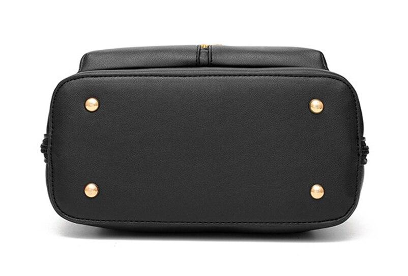 Nevenka Anti Theft Leather Backpack Women Mini Backpacks Female Travel Backpack for Girls School Backpacks Ladies Black Bag 201811