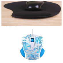 Promotion 2400DPI LED Optical  USB Wired Gaming Game Mouse Pro Gamer Computer Mice For PC High Quality with Mouse Pad
