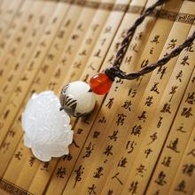 DIY Ethnic Jewelry Ethnic Necklace Fashion Handmade Carved Bodhi Root Vintage Necklace