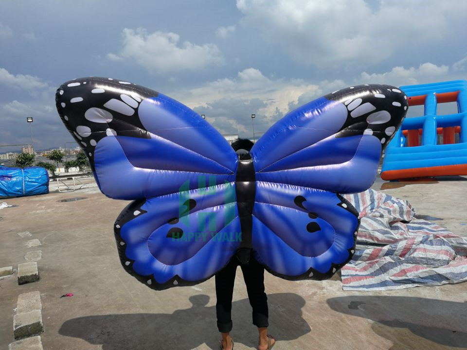 blue inflatable butterfly (1)