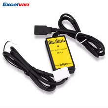 WT-USB-VW02 Car CD Adapter MP3 Audio Interface AUX USB SD 12P Connect CD Changer for Audi / VW / Skoda