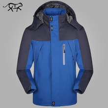 2017 Thicken Winter Jacket Men Waterproof Fashion Wear Windproof Hooded Jacket and Coats for Male Brand Clothing Big Size 5XL(China)