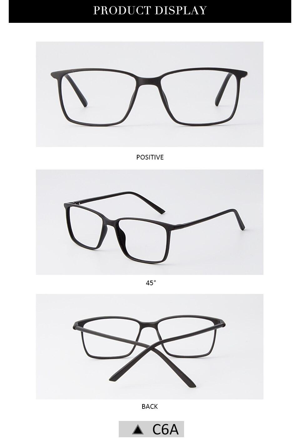 39e6adfb13 FEIDA Brand eyeglasses frames men TR90 eyeglasses Ultra-Light Frames  Reading Glasses spectacle frames for men women YX0163