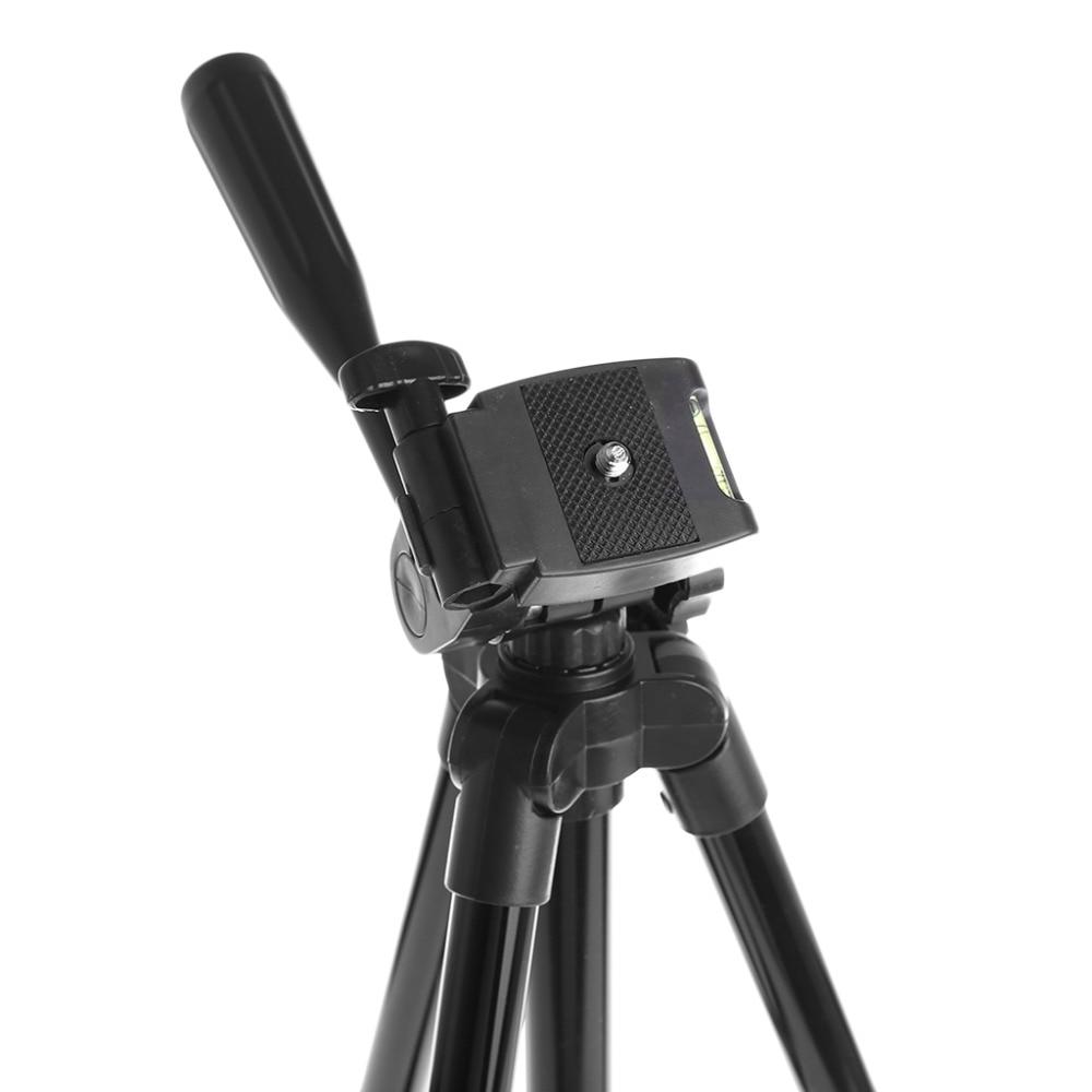 Universal Flexible Portable Aluminum Alloy DV DSLR Camera Tripod For Canon Sony Nikon Digital Cameras With pan head Nylon Bag