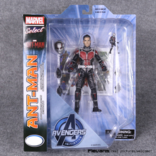 "Marvel Select Ant Man Ant-Man PVC Action Figure Collectible Model Toy 7"" 18cm"