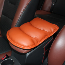 Car Armrests Cover Pad Vehicle Center Console Arm Rest Seat Pad For Toyota Camry Corolla RAV4 PRADO Vios Vitz Prius