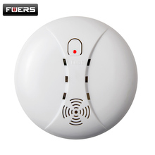 Wireless Smoke/fire Detector smoke alarm for Wireless For Touch Keypad Panel wifi GSM Home Security System without battery(China)