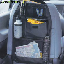 Onever Car organizer Back seat of chair Car multi Pocket Auto storage bag Car seat high quality