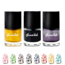 Nail Polish Stamp Polish Nail Art 24 Colors Stamping Nail Lacquer Varnish Spray Vernis A Ongle genailish-GC1