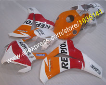 Hot Sales,Fashion Repsol For Honda CBR 1000RR 2008 2009 2010 2011 CBR1000 RR 08 09 10 11 GAS motor fairing (Injection molding)(China)