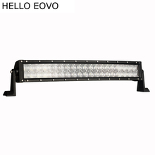 "HELLO EOVO 5D 22"" Inch 200W Curved LED Light Bar for Work Indicators Driving Offroad Boat Car Tractor Truck 4x4 SUV ATV 12V 24v"