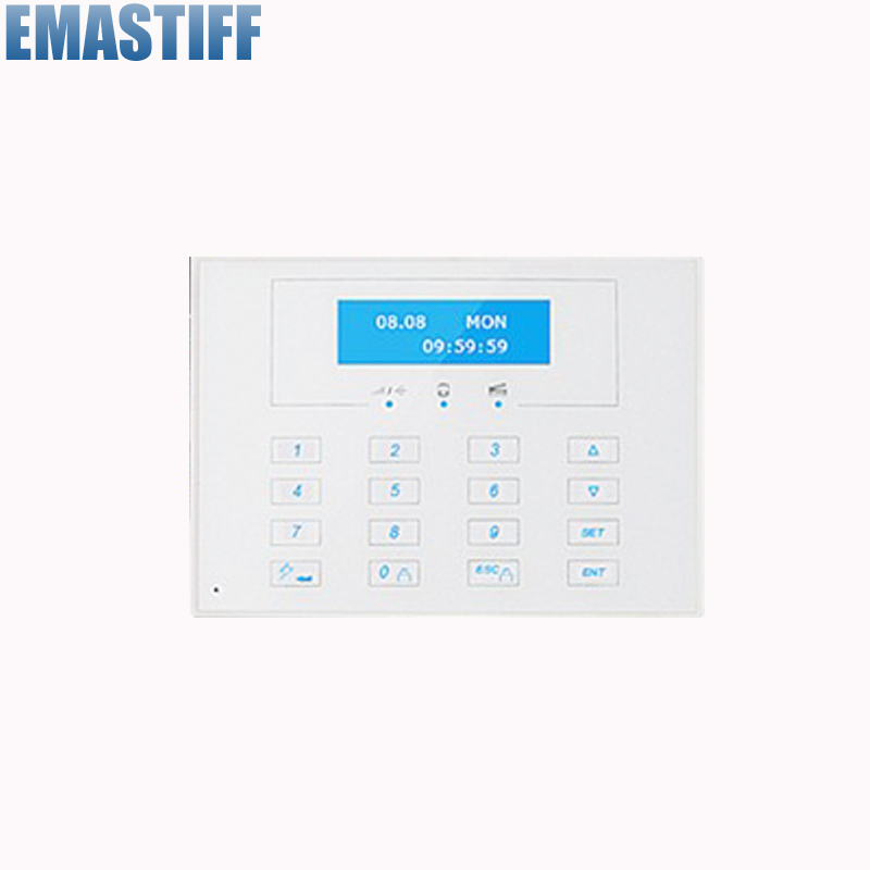 868MHZ LCD display Wireless Two-way remote control keypad, External Password keyboard for 868MHZ 433MHZ alarm systems<br>