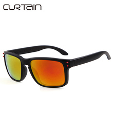 2017 Outdoor Fashion Brand Designer with logo Sunglasses Men Polarized Women Mirror UV400 Gafas Oculos de sol Sun glasses 9102(China)