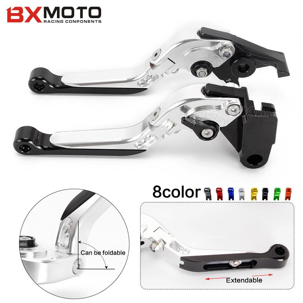 Motorcycle parts Adjustable Brake Clutch Levers For Triumph America/LT/Tiger 1050/Sport Tiger 800/XC Thruxton Bonneville/SE/T100<br>