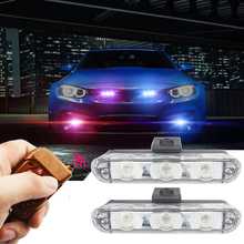 DC 12V Strobe Warning light Wireless Remote Car Truck Light Flashing Firemen Lights Ambulance Police lights Car-styling