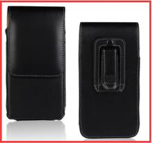 New Smooth/Lichee Pattern Leather Pouch Belt Clip Bag for Sony Xperia L1/HTC One X10/ DOOGEE X10 Vernee Thor E Phone Cases Cell(China)
