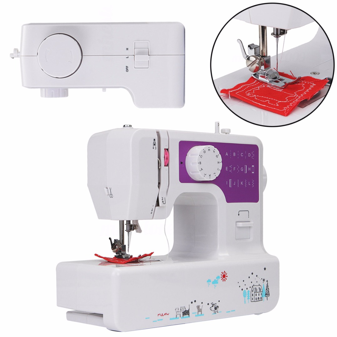 ABS 29*12*28cm Electric Sewing Machine Quilting Multi-Function Heavy Duty Household