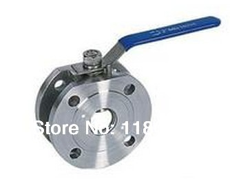 Manualhandle flange/italian stainless steel Ball Valve 2 way (304 ) 2  DN 50<br><br>Aliexpress