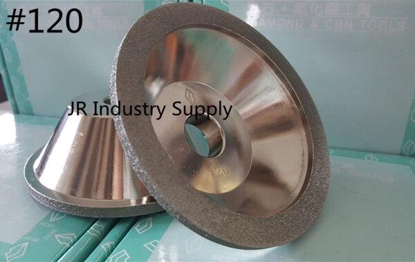 #120 Cup-Shaped Diamond grinding wheel 100D*10W*5U*20H*35T 1pcs<br><br>Aliexpress