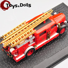 Collectible  1:72 VOLVO B 11 Alloy Diecast Fire Truck model 7147005 For Children Toys Gifts