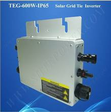 New design dc to ac on grid tie waterproof 600w inverter(China)