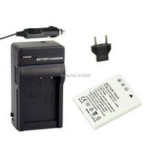 EN-EL8, ENEL8 Camera Battery and Charger for Nikon Coolpix P1, P2 , S1, S2 , S3 , S5 , S50, S50c, S51, S51c, S52.